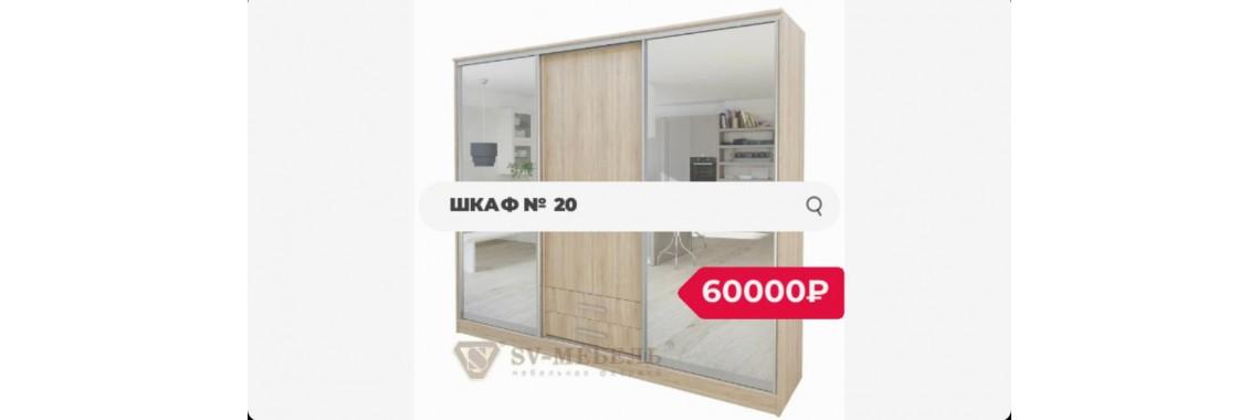Шкаф-купе №20